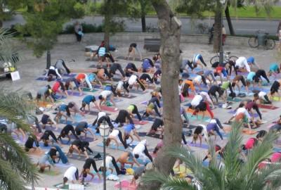 Palma goes Yoga