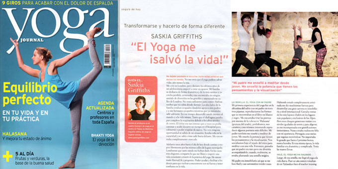 saskia Griffiths JYoga Journal